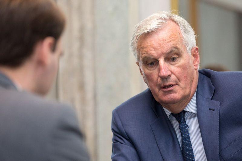Michelis Barnier. Žygimanto Gedvilo (VŽ) nuotr.