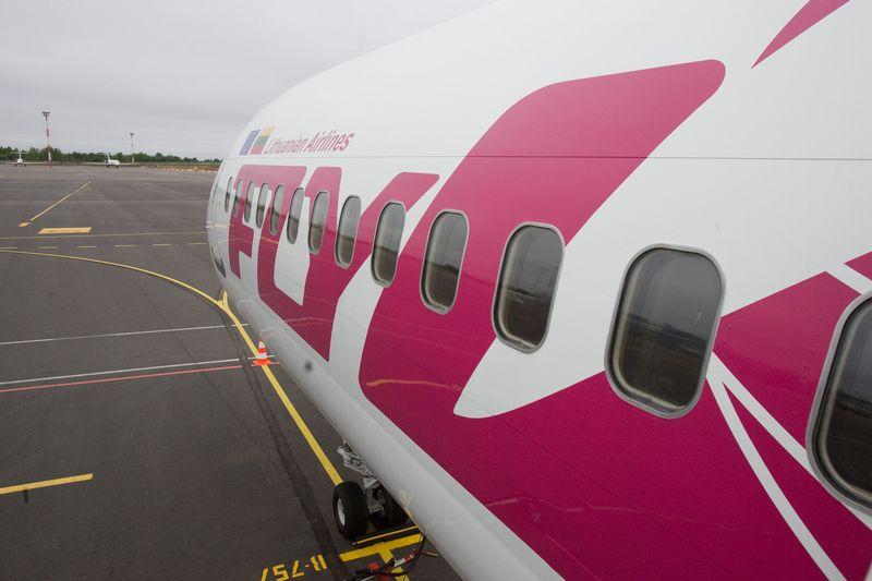"""Nuo 2009 m. veiklos nevykdančios """"flyLAL"""" oro linijos sulaukė ESTT palaikymo. Herkaus Milaševičiaus nuotr."""