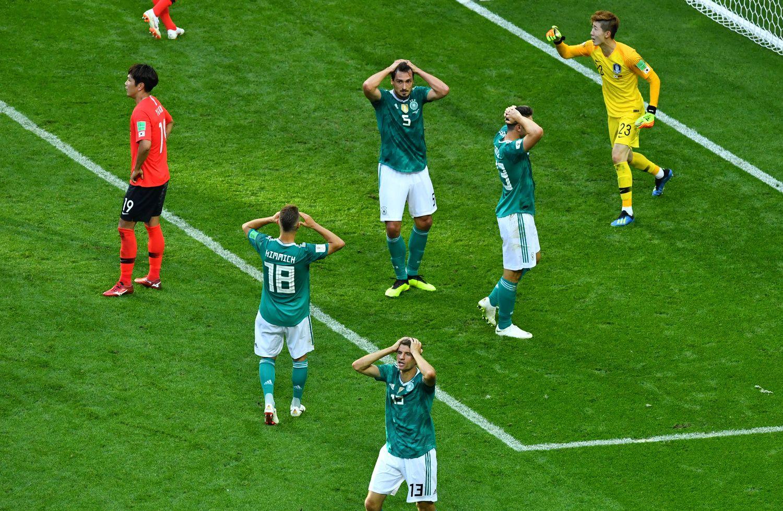 Kas nutinka čempionams: vokiečių krachas – ne sensacija, o tendencija