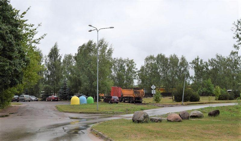 """UAB """"Rūdupis"""" pradėjo viešųjų erdvių tvarkymo darbus Prienų Stadiono mikrorajone. Projekto vertė siekia 2,7 mln. Eur. Prienų raj. savivaldybės nuotr."""
