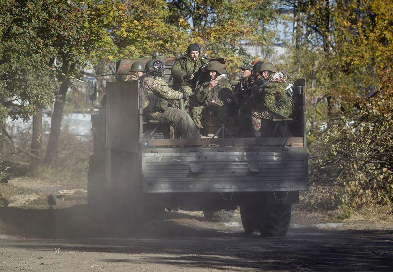 """Ukrainos rytuose ir pradėjo formuotis Vagnerio samdinių būrys. """"Reuters"""" nuotr."""