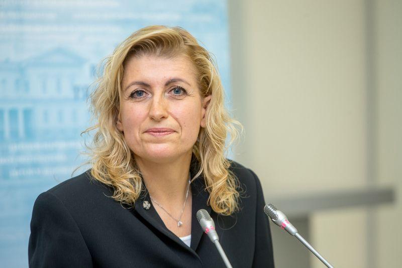 Lietuvos kultūros ministrė Liana Ruokytė-Jonsson. Juditos Grigelytės (VŽ) nuotr.