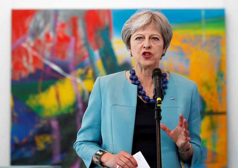 "JK premjerė Theresa May. ""Reuters"" / ""Scanpix"" nuotr."