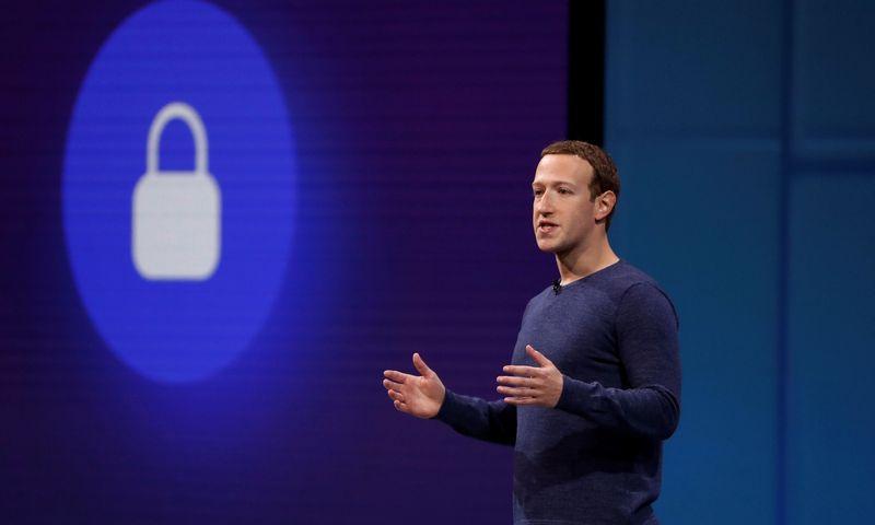 """Facebook"" vadovas Markas Zuckerbergas. Stepheno Lamo (""Reuters"" / ""Scanpix"")  nuotr."
