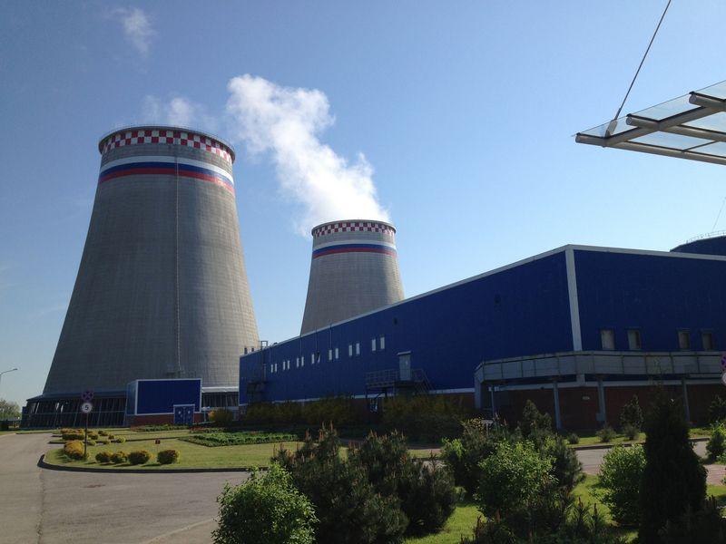 """Rusijos elektros energijos koncerno """"Inter RAO"""" valdoma Kaliningrado srities elektrinė. Ryto Staselio nuotr."""