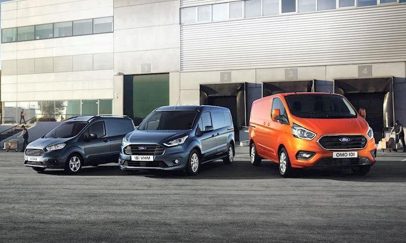 """Praėjusiais metais """"Ford Transit"""" šeimos automobilių pardavimas pasiekė naują rekordą Europoje – jų nupirkta net 287,6 tūkst."""
