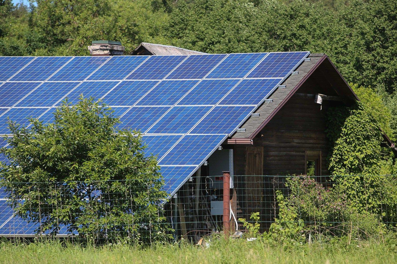 Individualioms saulės jėgainėms – 3,3 mln. Eur