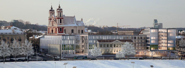 Koreguojamas Šv. Jokūbo ligoninės konversijos projektas, mažinamas pastatų plotas