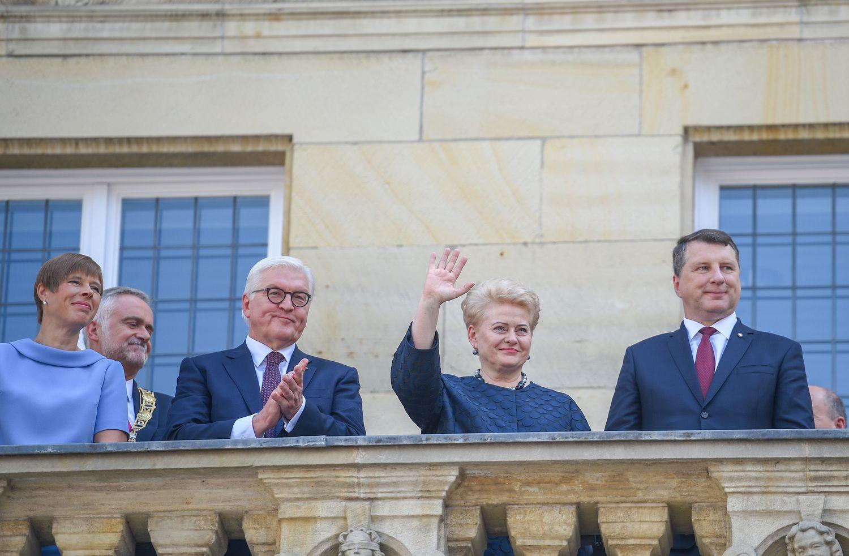 Prezidentė Vokietijoje atsiėmė Vestfalijos taikos premiją