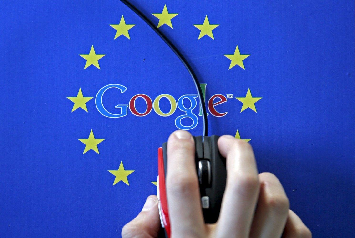 """EK ruošia """"Google"""" dar vieną milijardinę baudą"""