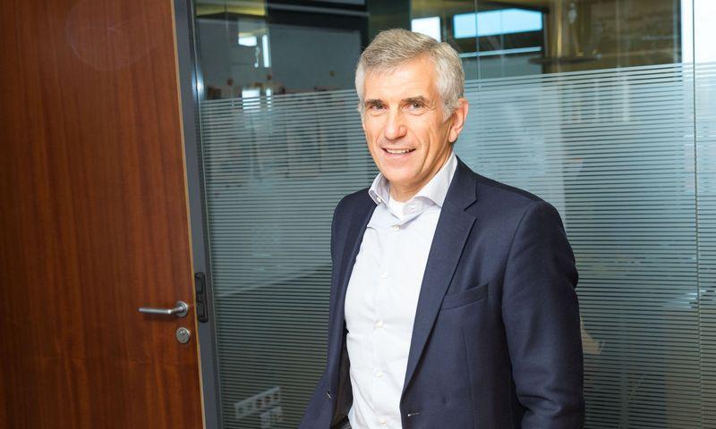 """Gintautas Galvanauskas, buvęs """"Danske Bank"""" Lietuvoje vadovas ir """"Kenova asset management"""" valdybos pirmininkas. Vladimiro Ivanovo (VŽ) nuotr."""