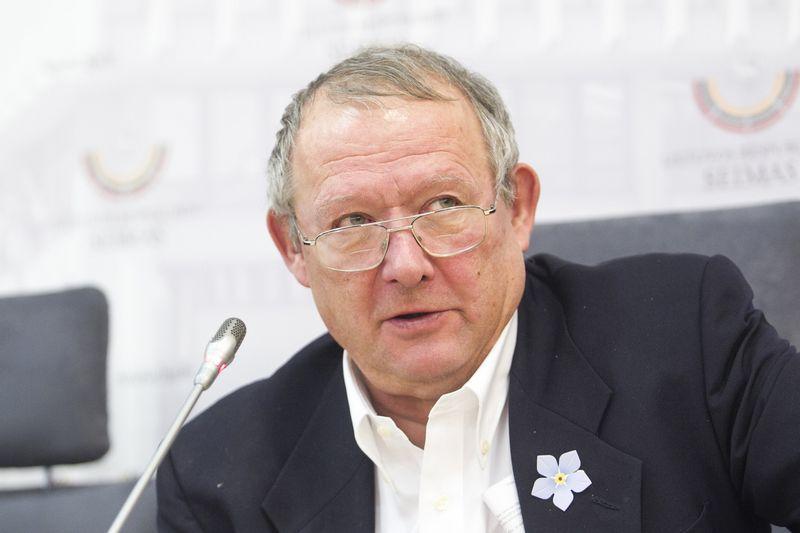 """Adamas Michnikas, lenkų dienraščio """"Gazeta Wyborcza"""" vyriausiasis redaktorius, Lietuvos Laisvės premijos laureatas. Irmanto Gelūno (""""15min""""/""""Scanpix"""") nuotr."""