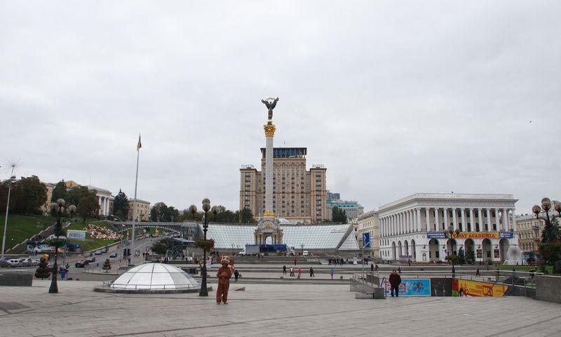 Kijevo Maidano aikštė. Vladimiro Ivanovo (VŽ) nuotr.