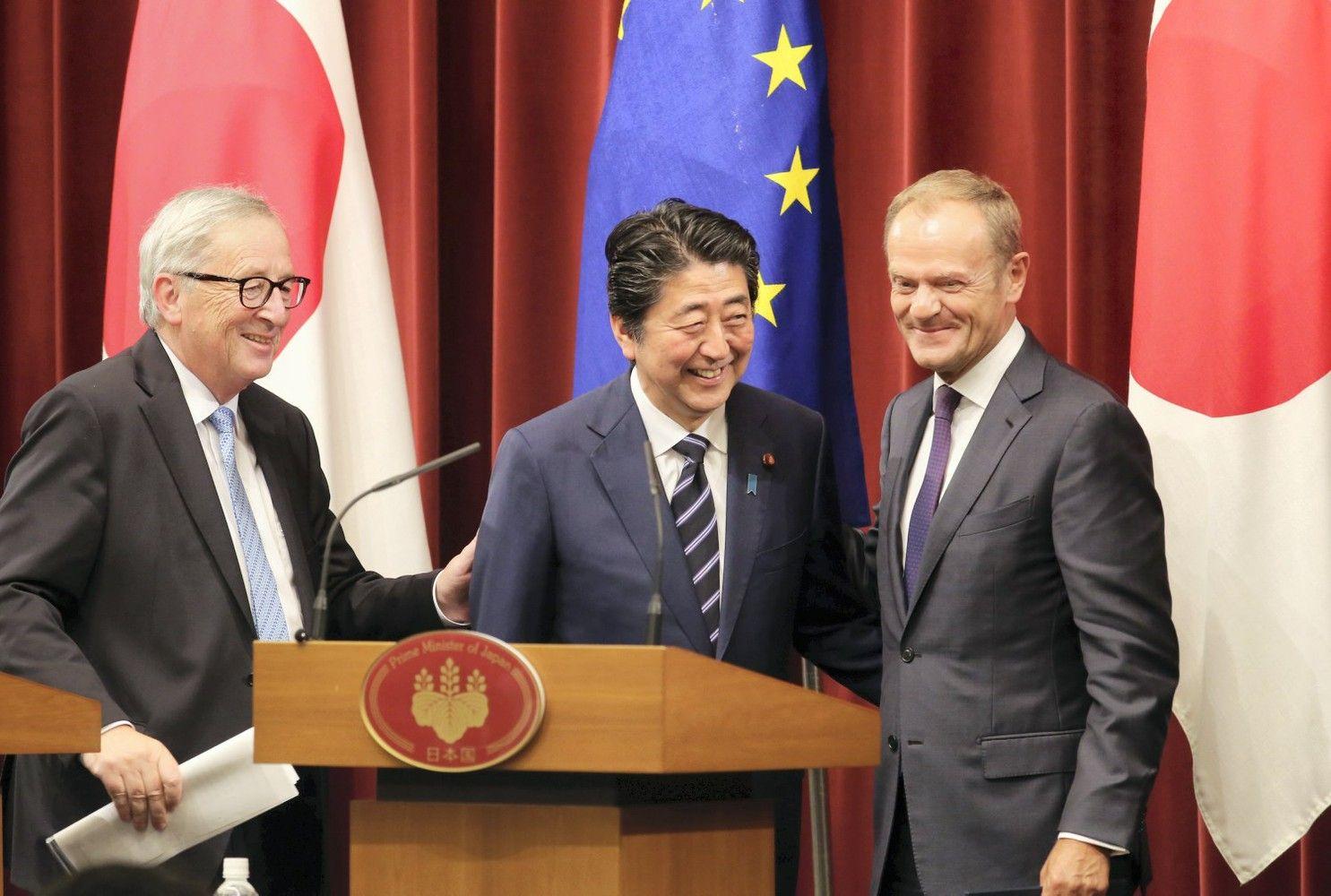ES ir Japonija pasirašė laisvos prekybos sutartį