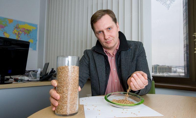 """Robertas Lapinskas, UAB """"Agrorodeo"""" generalinis direktorius. Juditos Grigelytės (VŽ) nuotr."""
