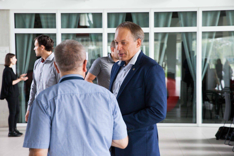 Naujasis KTU rektorius žada plėsti bendradarbiavimą su verslu