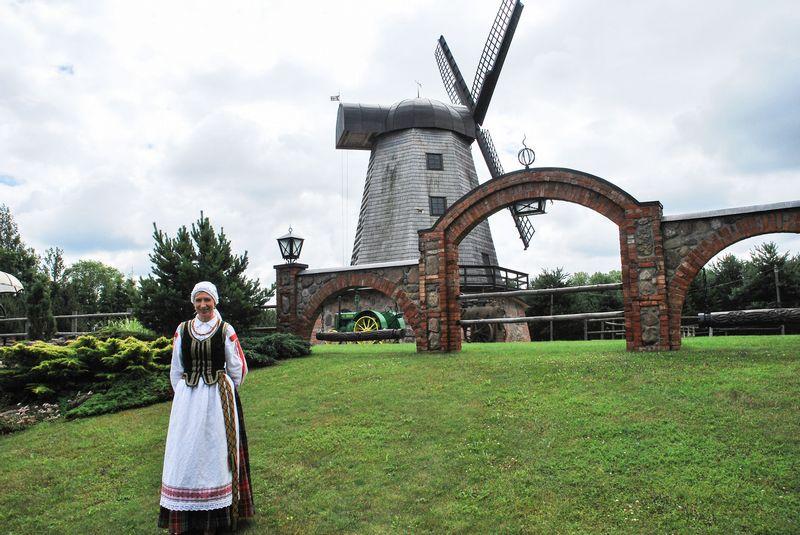 Kaimo turizmo Sodeliškių dvaro sodybos savininkė Neringa Linkevičienė. Gintarės Rovaitės (VŽ) nuotr.
