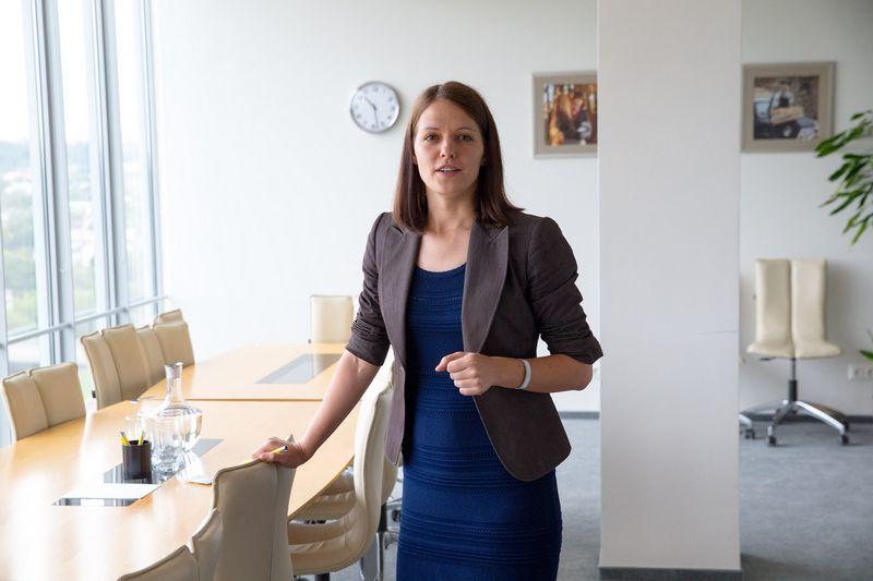 """Inga Čeledinė, """"PwC Legal"""" Mokestinių ginčų praktikos vadovė. Vladimiro Ivanovo (VŽ) nuotr."""