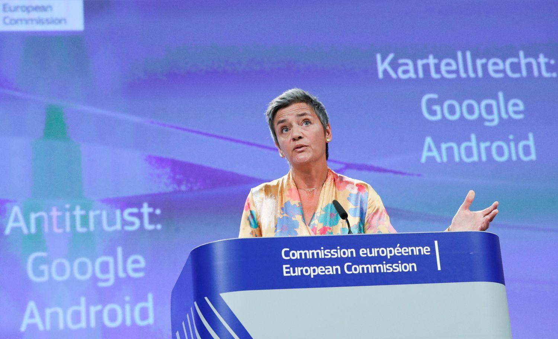 """Google"" Europoje gavo 4,34 mlrd. Eur baudą"
