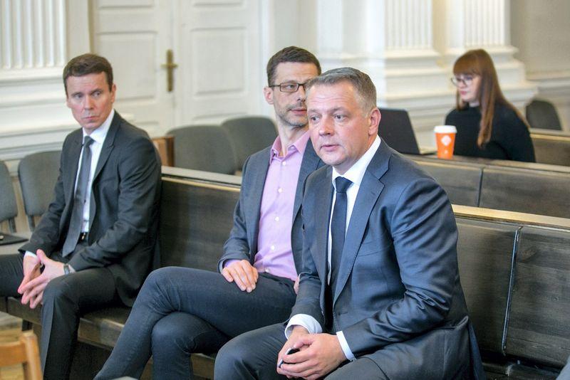 Eligijus Masiulis, Šarūnas Gustainis, Raimondas Kurlianskis. Juliaus Kalinsko (VŽ) nuotr.