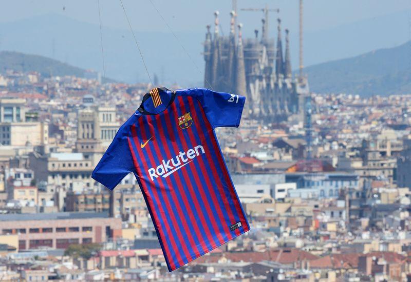 """""""Barcelona"""" klubo pajamos artimiausiais metais turėtų viršyti 1 mlrd. Eur. """"Reuters"""" / """"Scanpix"""" nuotr."""
