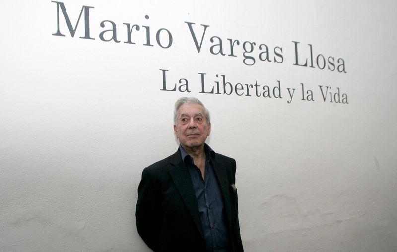 Mario Vargasas Llosa. Alejandro Acosta/REUTERS nuotr.