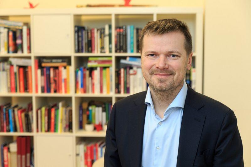 """Kęstutis Gečas, komunikacijos agentūros """"INK agency"""" vyr. partneris. Vladimiro Ivanovo (VŽ) nuotr."""