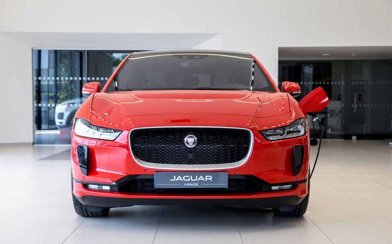 "Elektromobilis ""Jaguar I-Pace"". Juditos Grigelytės (VŽ) nuotr."