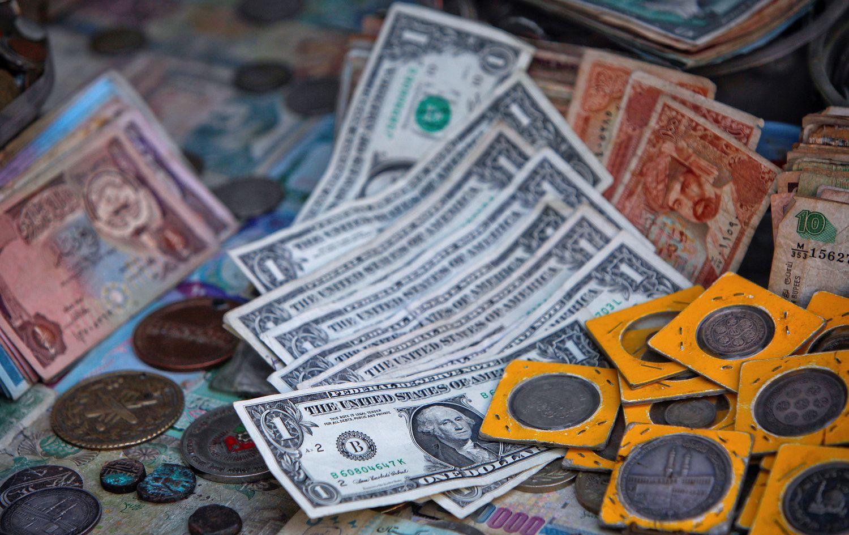 Kokios valiutos geriausios krizės sąlygomis