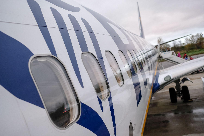"""""""Ryanair"""" pelnas sumažėjo penktadaliu"""