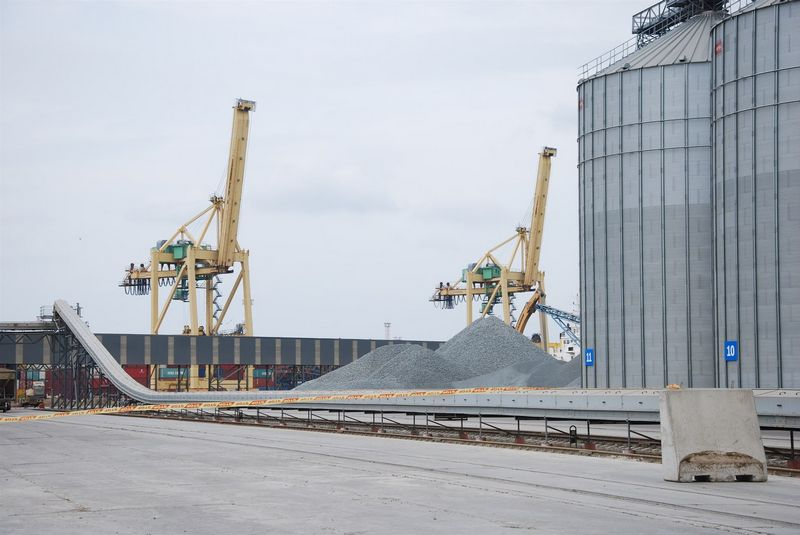 """UAB """"Malkų įlankos terminalas"""". Mildos Ancevičės nuotr."""