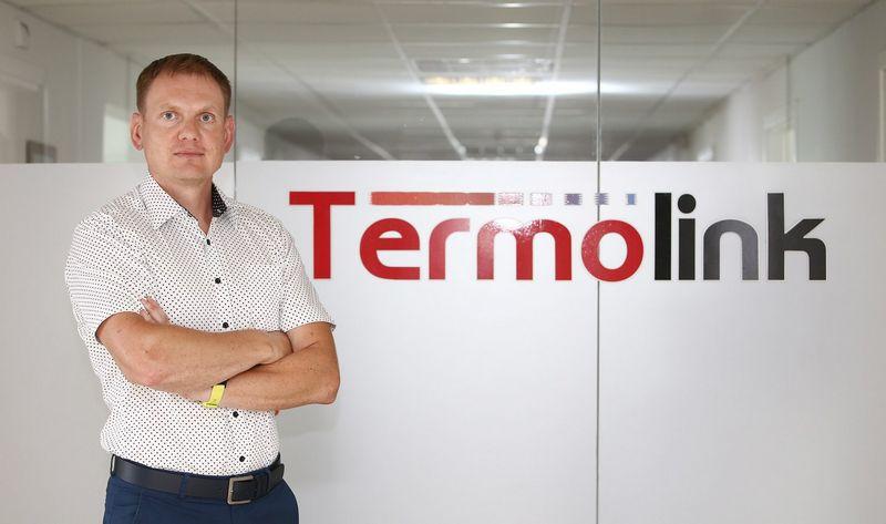 """""""Termolink"""" direktorius Valdas Garmus."""