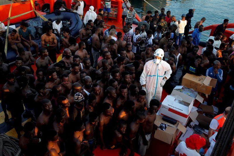 "Migrantai. Jono Nazca (""Reuters""/ ""Scanpix"") nuotr."