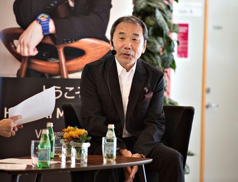 "Haruki Murakami. ""Reuters"" / ""Scanpix"" nuotr."