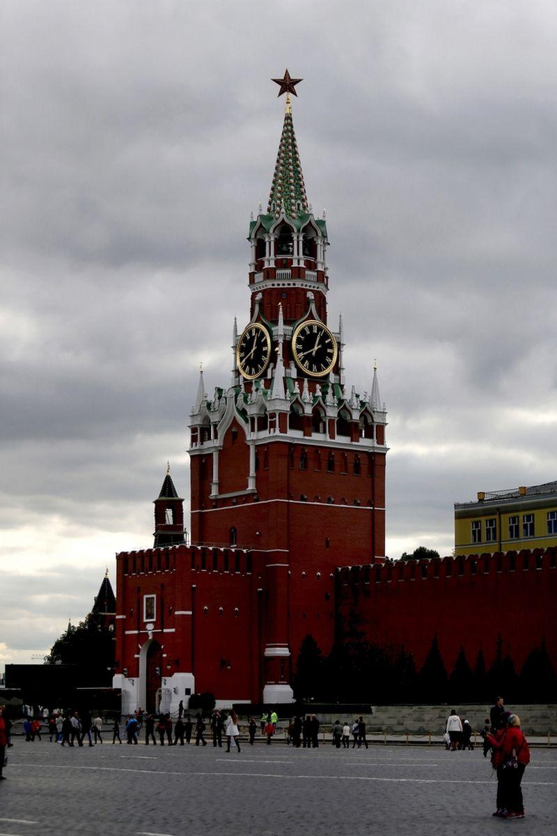 Rusija, Maskva. Kremliaus Spaso bokštas.  Algimanto Barzdžiaus nuotr.