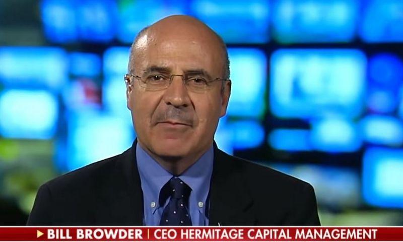 """Billas Browderis, fondo """"Hermitage Capital"""" valdytojas. """"Youtube"""" nuotr."""
