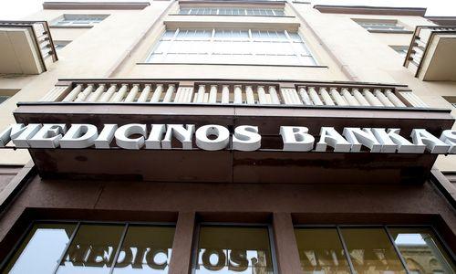 Medicinos banko obligacijų laimikis – 2,2 mln. Eur