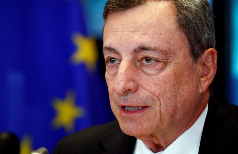 "ECB vadovas Mario Draghi. Francois Lenoir (""Reuters"" / ""Scanpix"") nuotr."