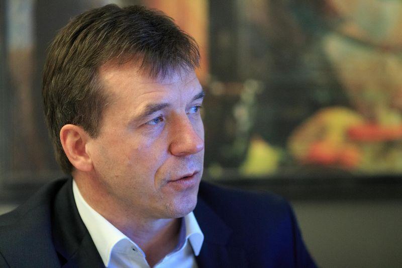 """Remigijus Šeris, """"Telecentro"""" generalinis direktorius. Vladimiro Ivanovo (VŽ) nuotr."""