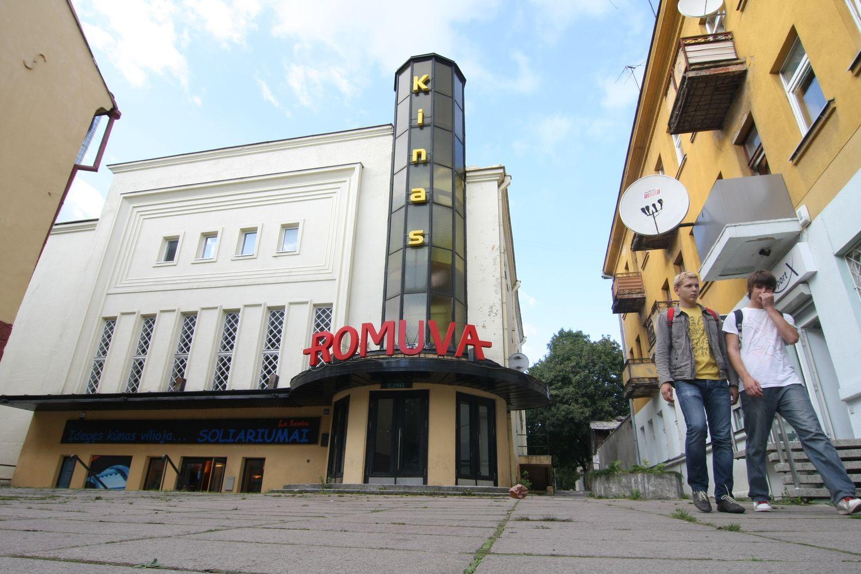 """Kauno """"Romuvos"""" kino teatro rekonstrukciją baigs dar šiemet"""