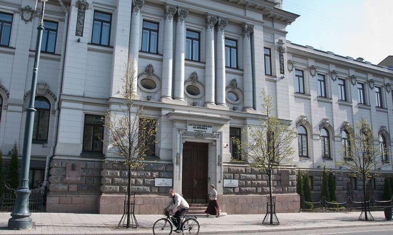 Pastate, kuriame dabar įsikūrusi Mokslų akademija, veikė pirmasis lietuviškas komercinis bankas. Herkaus Milaševičiaus nuotr.