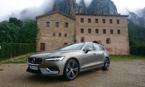 "VŽ bando ""Volvo V60"": kai nebesinori SUV"