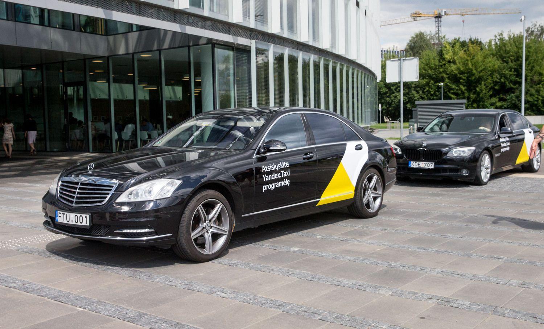 "NKSC rekomenduoja nenaudoti ""Yandex. Taxi"""