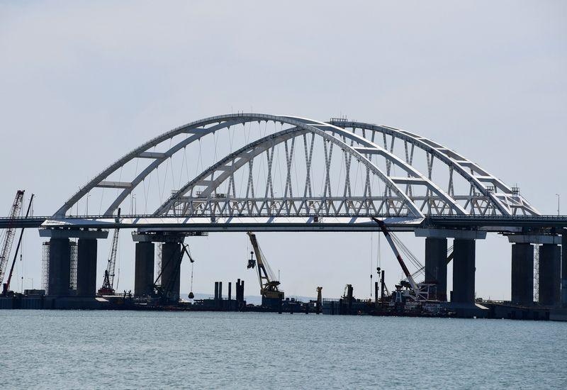 """Krymo tiltas. Alexandro Polegenko (""""Sputnik"""" / """"Scanpix"""")  nuotr."""