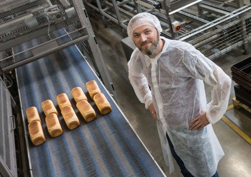 """Gražvydas Jukna, UAB """"Vilniaus duona"""" komercijos direktorius. Juditos Grigelytės (VŽ) nuotr."""