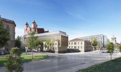 Pristatė atnaujintą Šv. Jokūbo ligoninės viziją, architektai dar turi pastabų