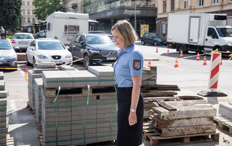 Valstybinės teritorijų planavimo ir statybos inspekcijos vadovė Eglė Kuklierienė. Juditos Grigelytės (VŽ) nuotr.