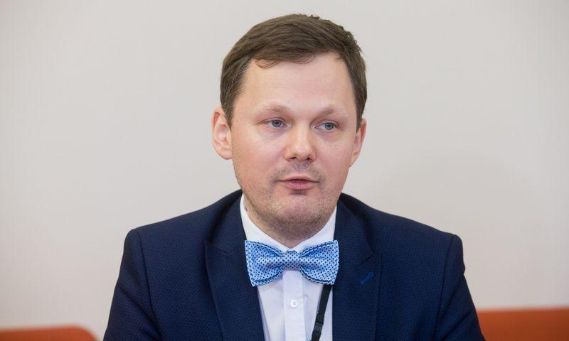 Aplinkos viceministras Martynas Norbutas. Juditos Grigelytės (VŽ) nuotr.