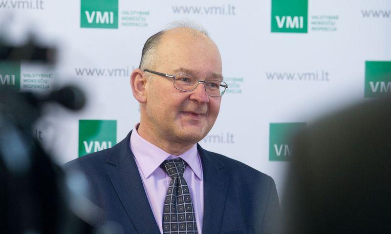 VMI viršininko pavaduotojas Artūras Klerauskas. Juditos Grigelytės (VŽ) nuotr.
