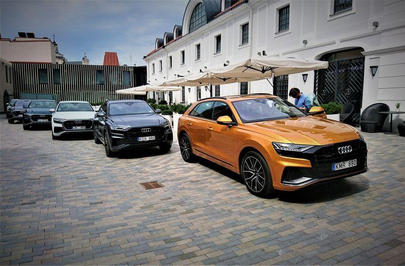 Lietuvos naujų automobilių rinka šiais metais – viena sparčiausiai augančių Europoje. Lino Butkaus (VŽ) nuotr.